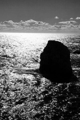 Dubrovnik, Croatia, travel, Markus Isomeri, sea, black and white